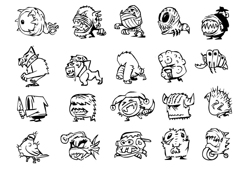 Project #6 Enemy concepts